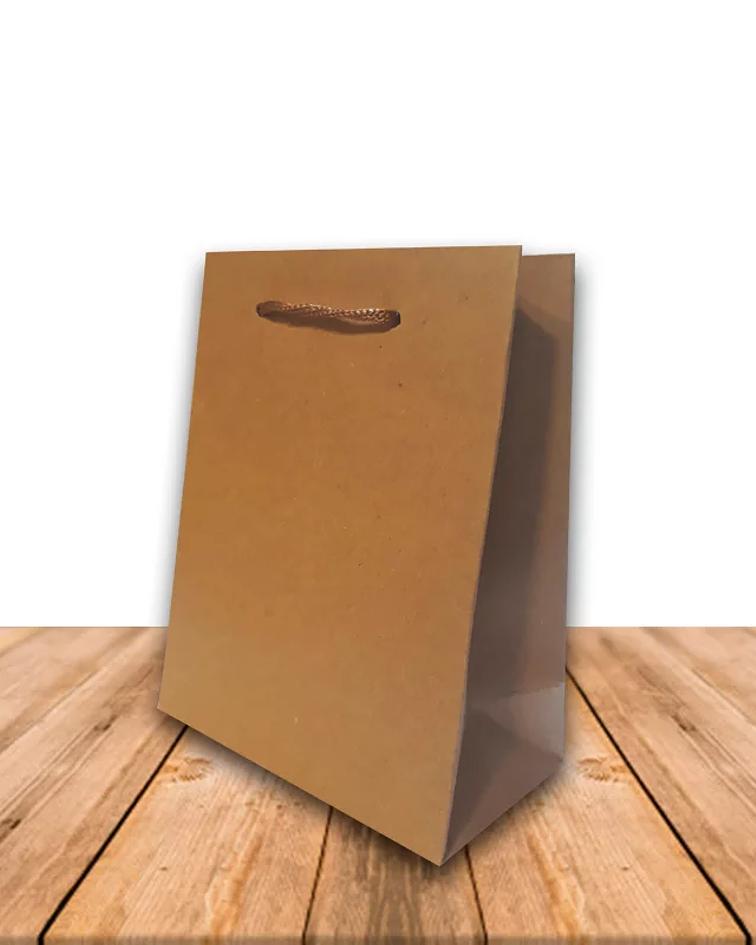 Bolsa de Papel Kraft 14.5 x 11.5 cms Precio x Docena