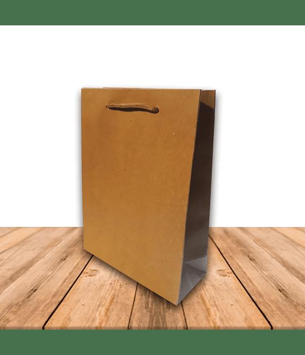 Bolsa Del Papel Kraft 20 x 15 cms Precio x Docena