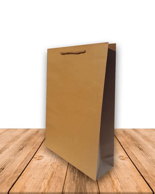 Bolsa De Papel Kraft 24 x 33 cms Precio x Docena