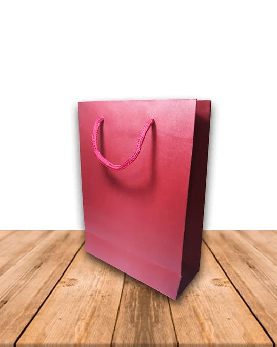 Bolsa Papel Kraft colores 14,5 x 20 cms Precio x Docena