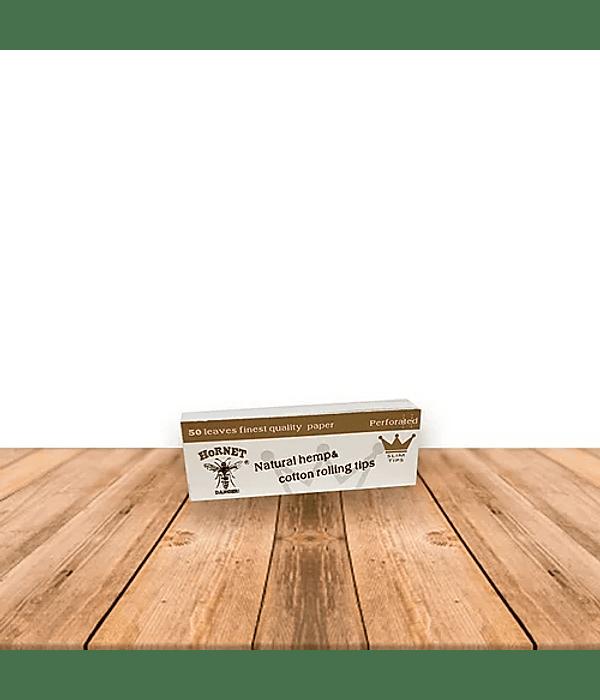 Tips de Carton Hornet Blanco Display  de 50