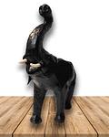 """Elefante de Cuero 12"""""""