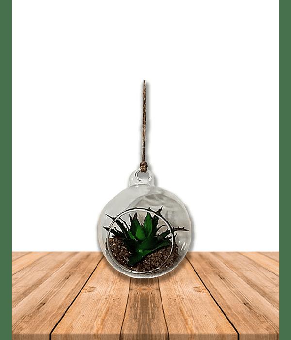Esfera Decorativa con Planta
