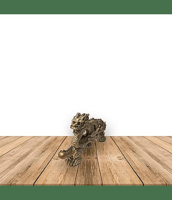 Figura de dragón Espiral mediana