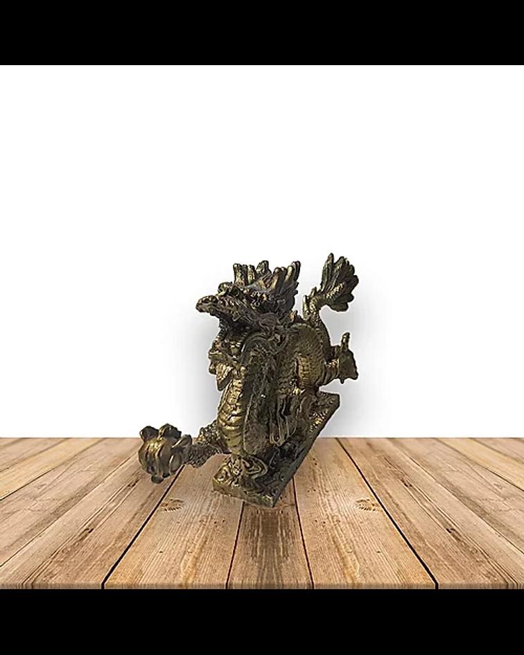 Figura de dragón Espiral Grande 1