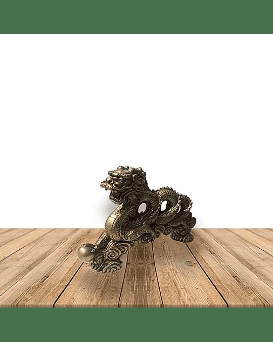 Figura de dragón Espiral Grande