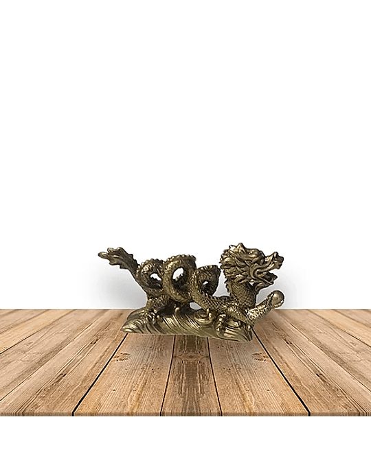 Figura Dragón Espiral