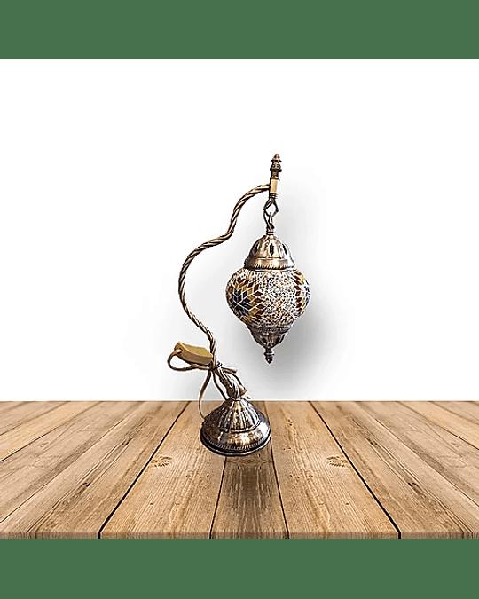 """Lámpara de Cristal Turca de Mosaico 15"""""""