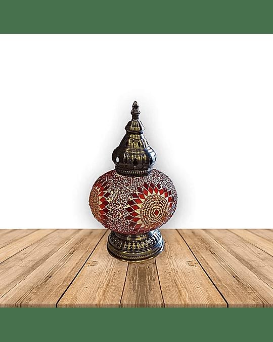 """Lámpara de Cristal Turca de Mosaico 12"""""""