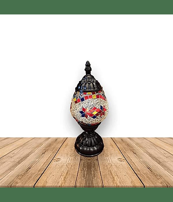 """Lámpara de Cristal de Mosaico Chica 10.5"""""""