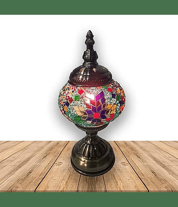 """Lámpara de Cristal de Mosaico Pequeña 11.5"""""""