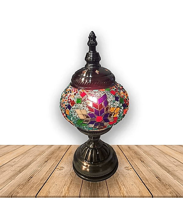 "Lámpara de Cristal de Mosaico Pequeña 11.5"" JI19-325"
