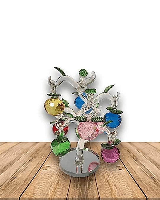 Árbol de Prisma Pequeño 8 Esferas 17cm Pack de 3