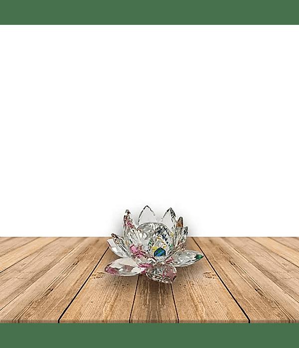 Flor de loto Cristal Color 50MM Pack de 4