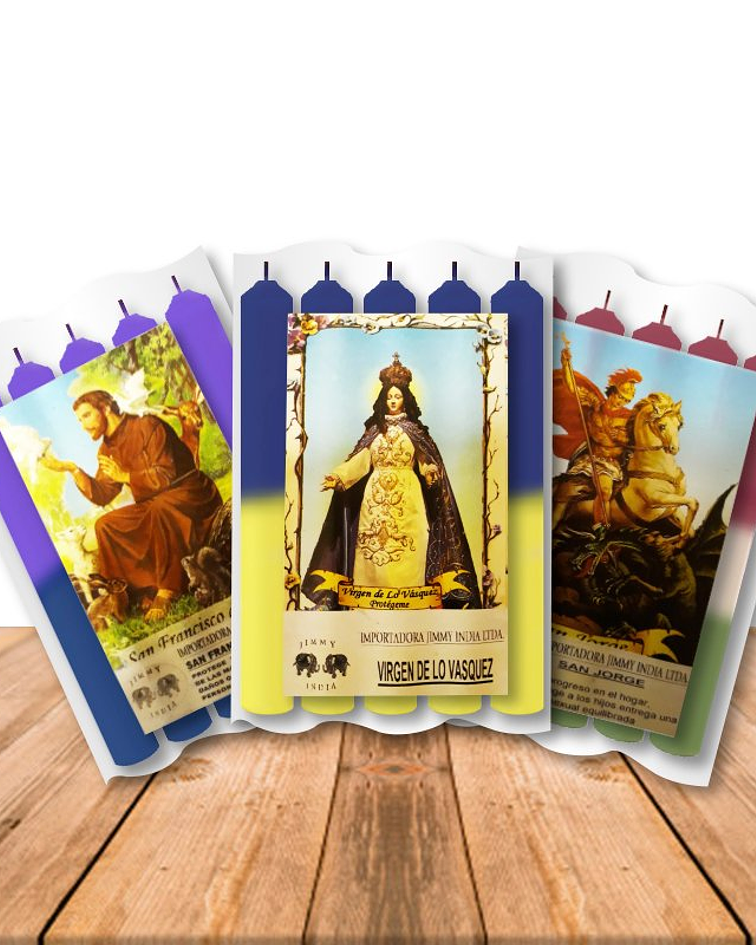 Velas Quintenas Pack de 3