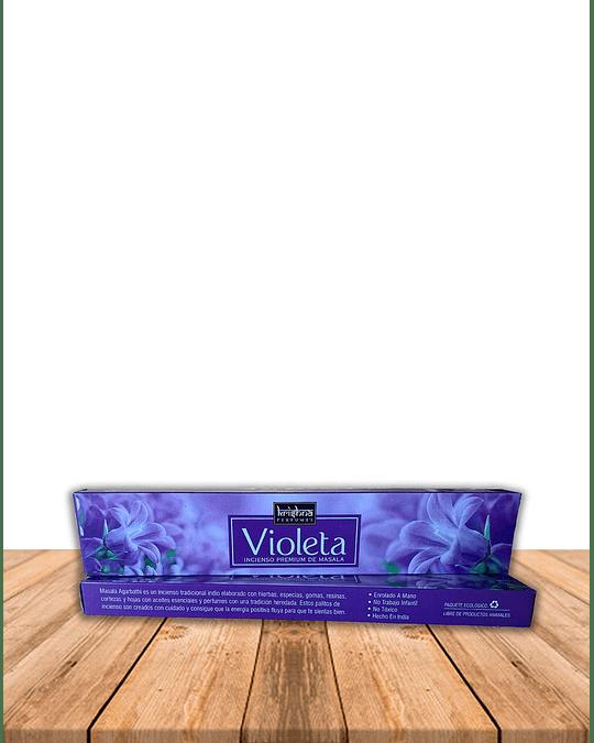 Incienso Krishna Premium Violeta