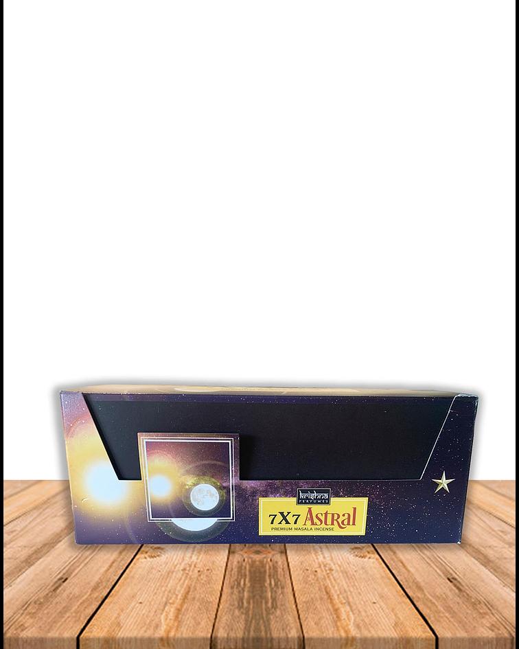 Incienso Krishna Premium 7 x 7 Astral