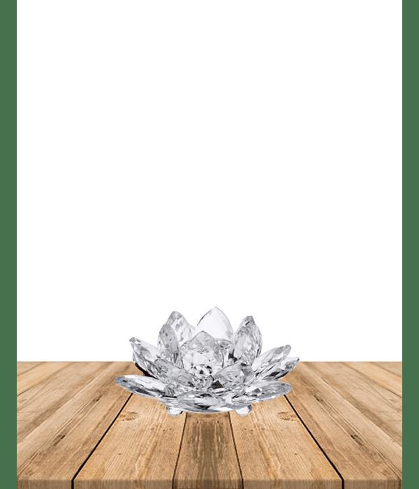 Flor de Loto Cristal 40mm  JI19-120