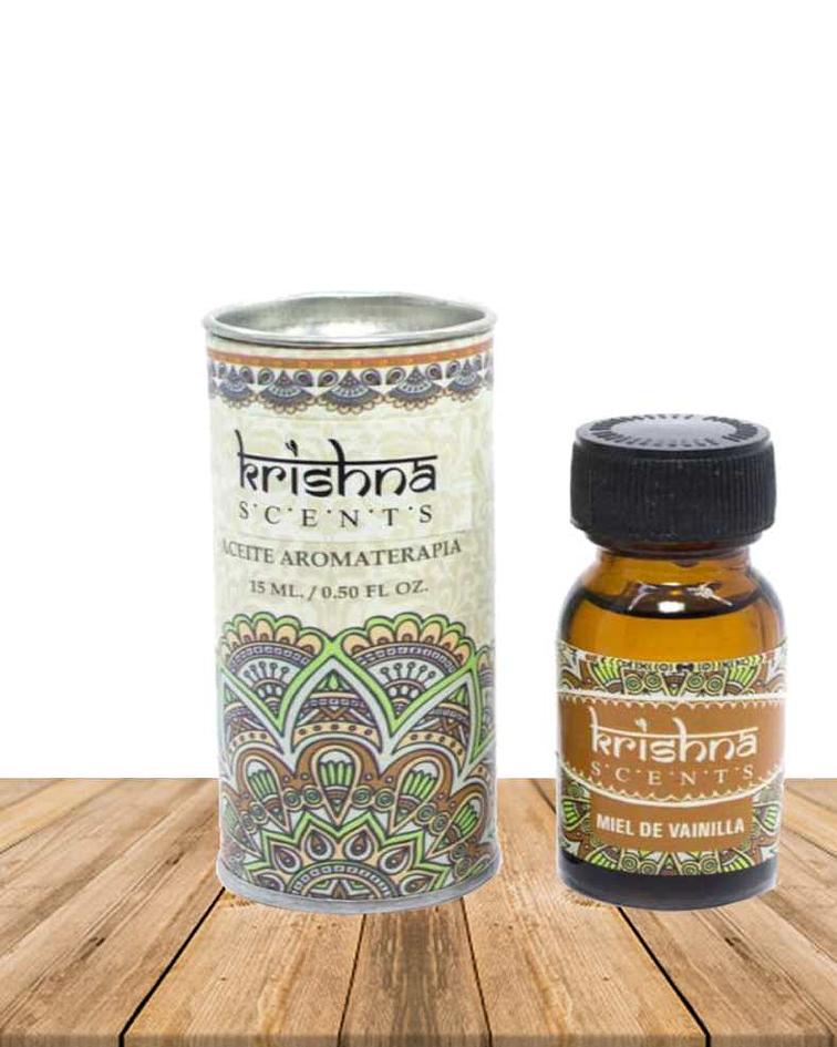 Aceite Esencial Miel Vainilla Krishna 15 ml