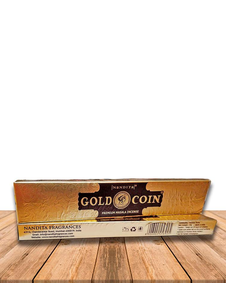 Incienso Nandita Gold Coin