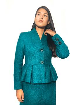 Bouclé Tailored Suit