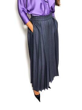 Patterned Long Skirt