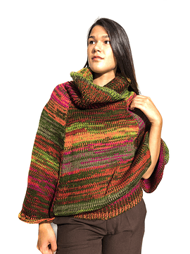 Multicolored Wool Jumper