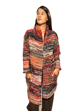 Multicolored Wool Jacket