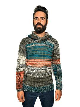Multicolored Wool Jumper