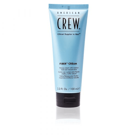 AMERICAN CREW | FIBER CREAM fibrous cream medium hold natural shine 100 ml