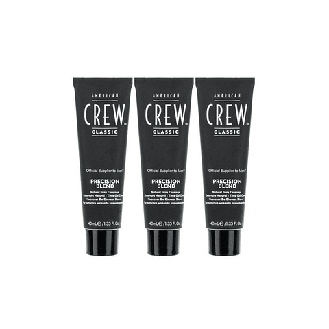 AMERICAN CREW | PRECISION BLEND LOTE #4-5 medium natural (3 tubes x 40ml)