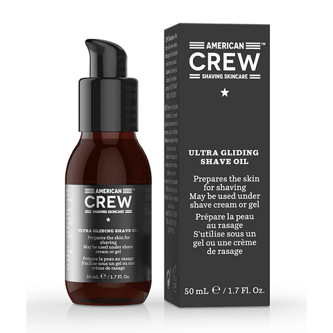 AMERICAN CREW | SHAVING SKIN CARE ultra gliding shave oil 50 ml