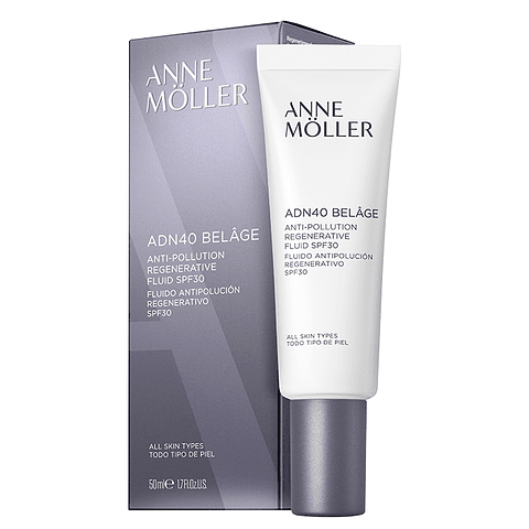 ANNE MÖLLER | BELÂGE anti-pollution regenerative fluid SPF30 50 ml