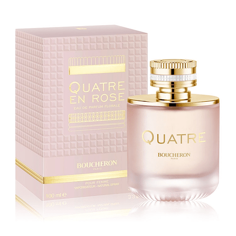 QUATRE EN ROSE Florale EdP 100 ml