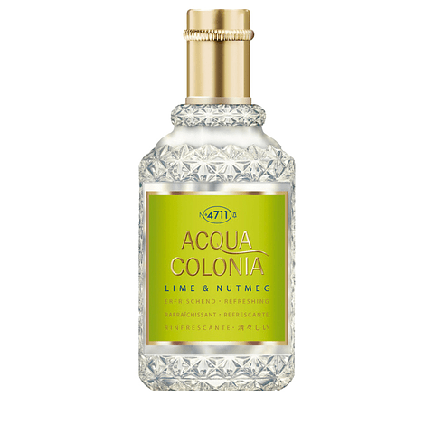 4711  ACQUA COLONIA LIME & NUTMEG edc splash & spray 50 ml