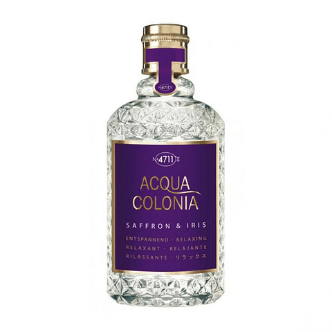 4711  ACQUA COLONIA SAFFRON & IRIS edc vapo 170 ml