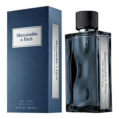 Abercrombie & Fitch  FIRST INSTINCT BLUE FOR MAN edt vapo 50 ml