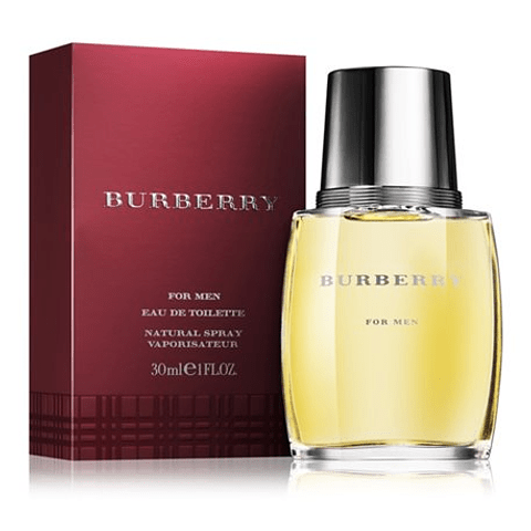 Burberry  BURBERRY FOR MEN edt vapo 30 ml
