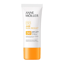 Hydrating Facial Cream Âge Sun Rerist BB Cream Anne Möller (50 ml) SPF	50+