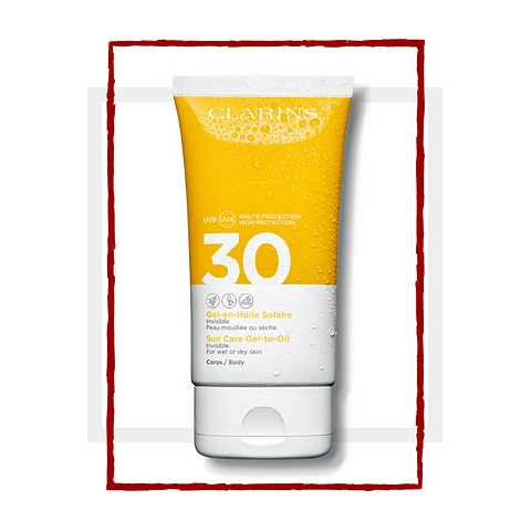 SOLAIRE Sun Care Body Gel-in-Oil SPF30