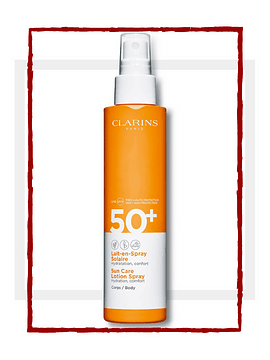 SOLAIRE Sun Care Body Lotion-in-Spray SPF50+