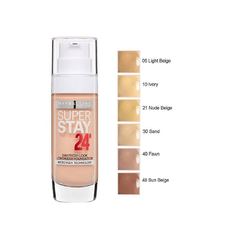 SUPERSTAY full coverage foundation