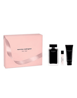 NARCISO For Her Coffret (EdT 100 ml + Body Lotion 75 ml + EdT 10 ml)