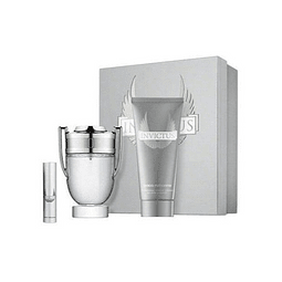 INVICTUS Coffret (EdT 100 ml + Shower Gel 100 ml + EdT 10 ml)