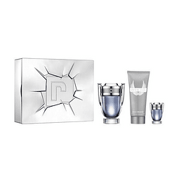 INVICTUS Coffret (EdT 100 ml + Shower Gel 100 ml + EdP 10 ml)