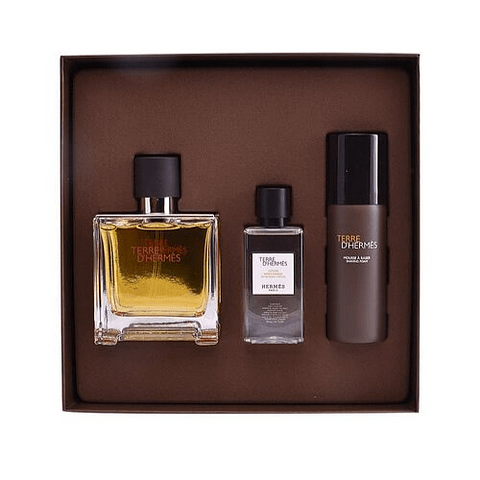 Terre d'Hermés Coffret (EdP 75ml + Shaving Foam 50ml + After-Shave Lotion 40ml)