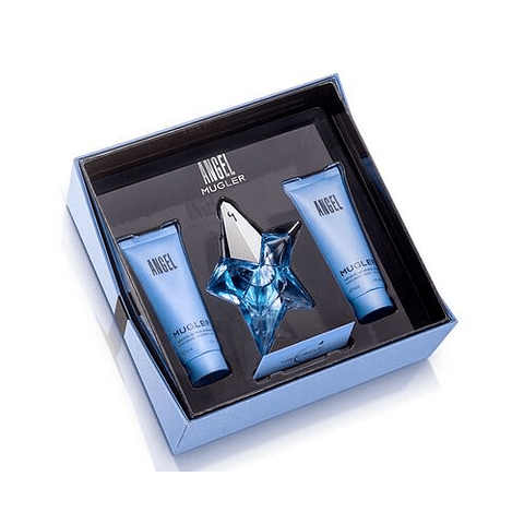 Angel Coffret (EdP 25ml + Body Milk 50ml + Shower Gel 50ml)