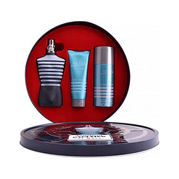 LE MALE Coffret (EdT 125ml + Shower Gel 75ml + Deo Vap 150ml)