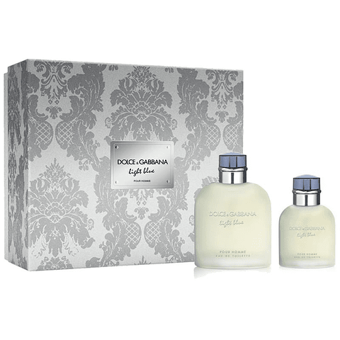 LIGHT BLUE POUR HOMME Coffret (EdT 125ml + EdT 40ml)