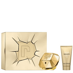 LADY MILLION Coffret (EdP 50ml + Body Lotion 75ml)